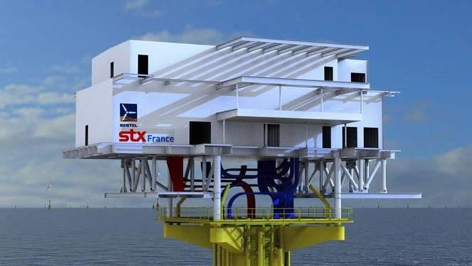 Transformateur offshore par STX