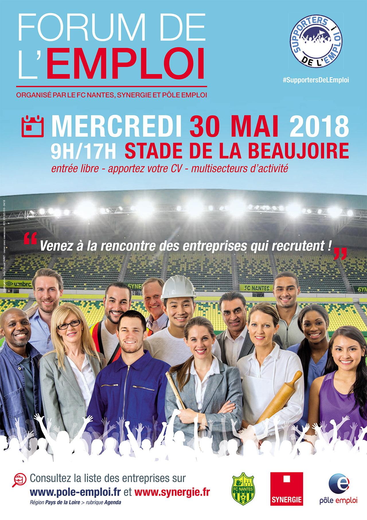Affiche forum emploi 2018