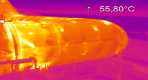 Détection de point chaud drone
