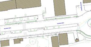 Exemple de plan relevé corps de rue