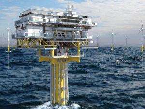 Sous station électrique offshore STX