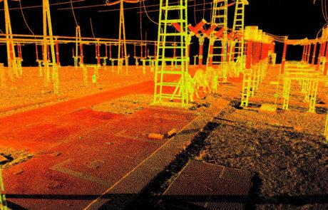 assemblage scan laser après relevé