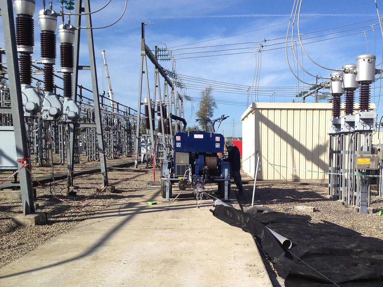 Construction de réseaux électriques