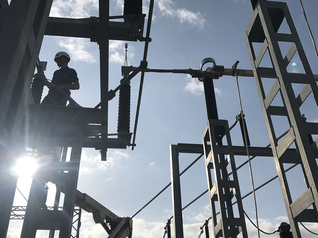 Études et travaux poste électrique HTB HTA