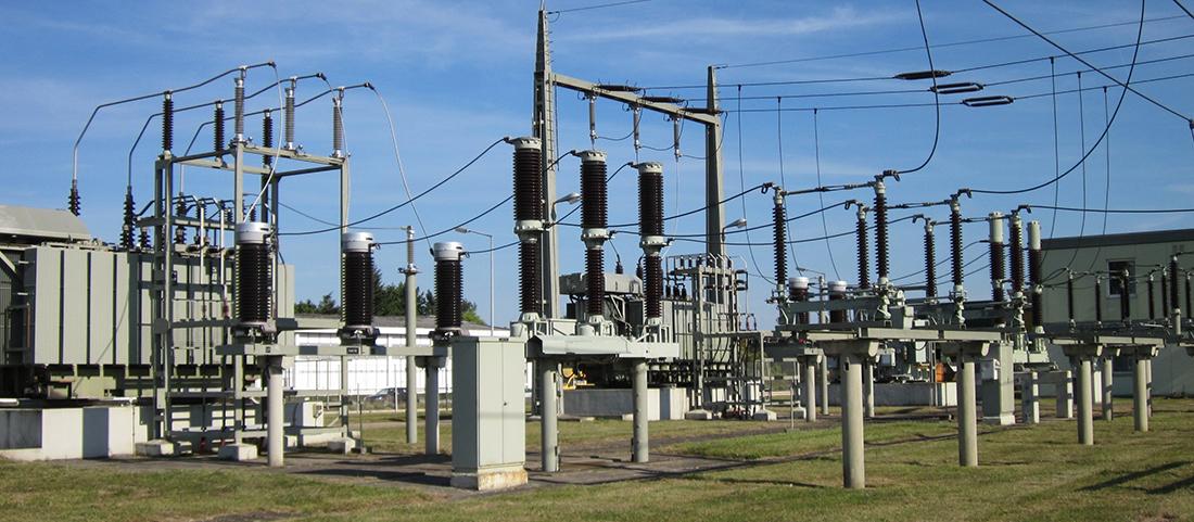 Exemple de poste de transformation électrique HTB