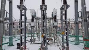 Zone de travail poste électrique de Chauconin 2019