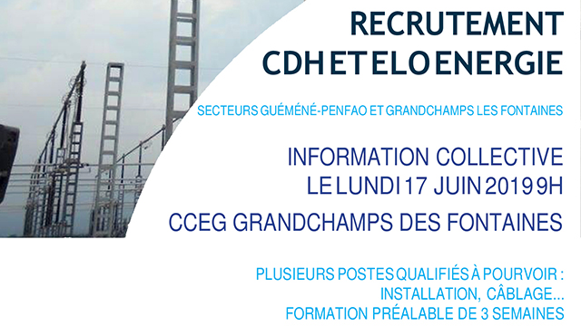 Pole Emploi - information collective à Blain